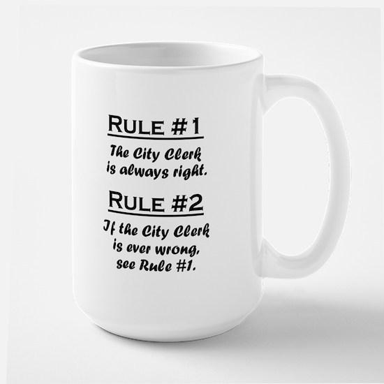 City Clerk Large Mug