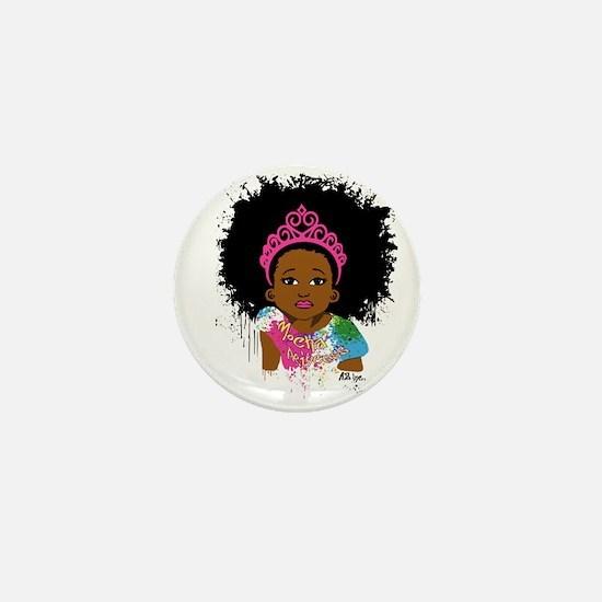 Mocha Princess Mini Button