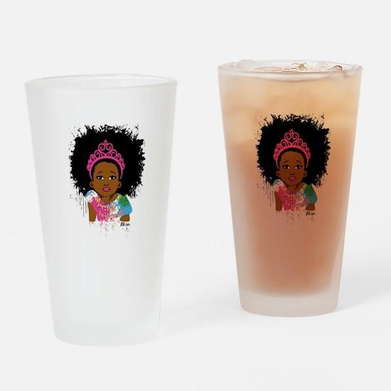Mocha Princess Drinking Glass