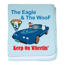 Eagle & The WooF 2 baby blanket