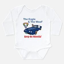 Eagle & The WooF 2 Long Sleeve Infant Bodysuit