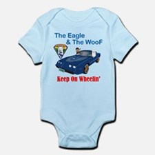 Eagle & The WooF 2 Infant Bodysuit