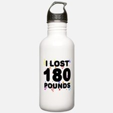 I Lost 180 Pounds! Water Bottle