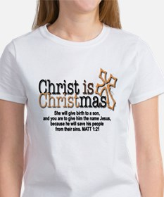 Christ back in Christmas Tee