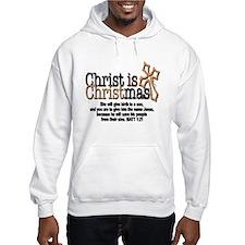 Christ back in Christmas Hoodie