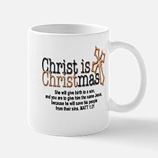 Christ back in Christmas Mug