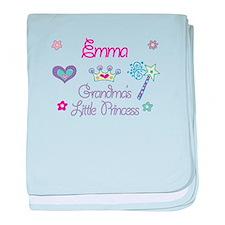 Emma - Grandma's Little Princ baby blanket