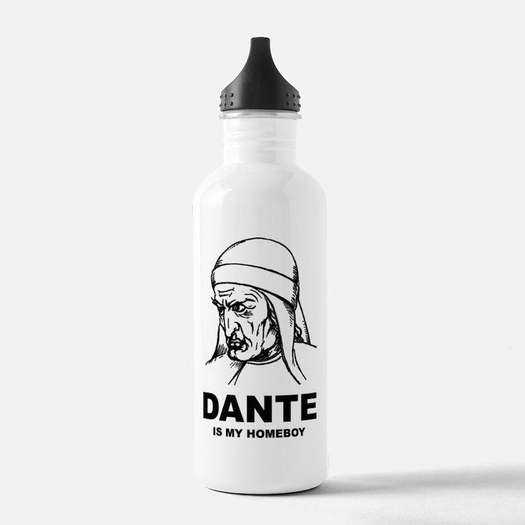 Dante Is My Homeboy Water Bottle