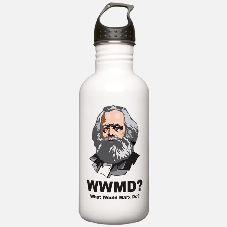 What Would Marx Do Water Bottle