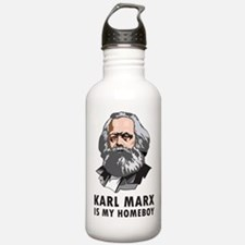 Karl Marx Is My Homeboy Water Bottle