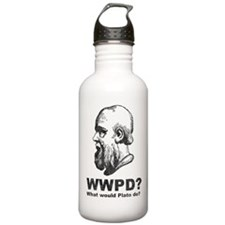 What Would Plato Do? Water Bottle