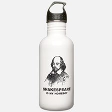 Shakespeare Is My Homeboy Water Bottle