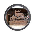 Mangy Moose Wall Clock