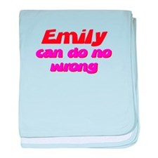 Emily Is Right baby blanket