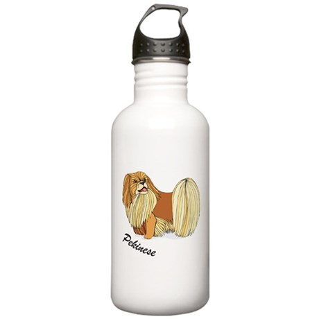 Pekinese Stainless Water Bottle 1.0L