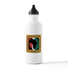 Kwanzaa Water Bottle