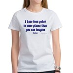 Poked in More Places Women's T-Shirt