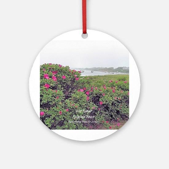 WILD ROSE Ornament (Round)