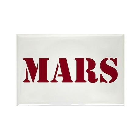 Mars Rectangle Magnet (10 pack)