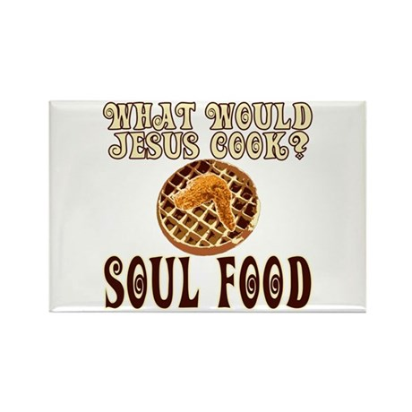 What Would Jesus Cook Rectangle Magnet (10 pack)
