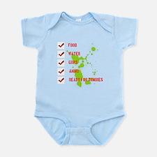 Cute Preparedness Infant Bodysuit