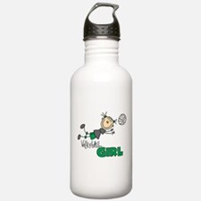 Volleyball Girl Water Bottle