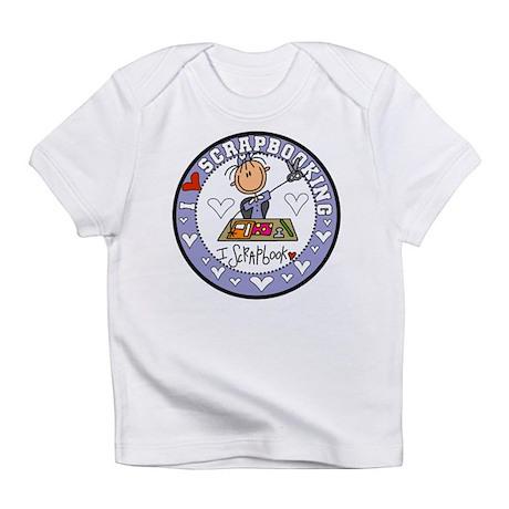 I Love Scrapbooking Infant T-Shirt