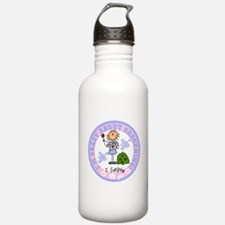 Crazy About Gardening Water Bottle