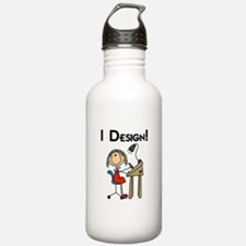 I Design Water Bottle