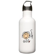 Female Dentist Water Bottle