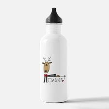 Dasher Reindeer Water Bottle