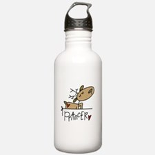 Prancer Reindeer Water Bottle