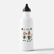 Pilgrims Thanksgiving Water Bottle