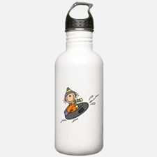 Snow Tubing Water Bottle