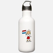Netherlands Ethnic Water Bottle
