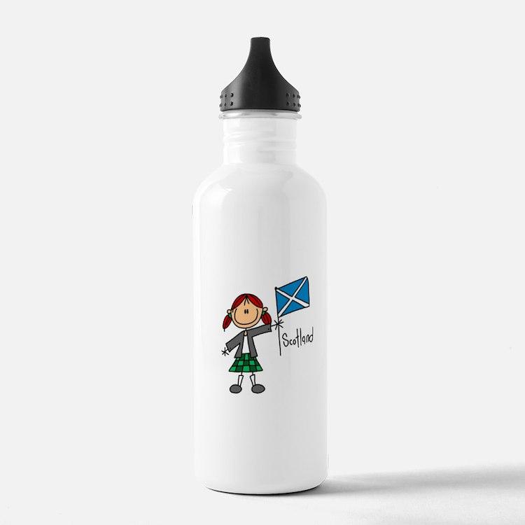 Scotland Ethnic Water Bottle