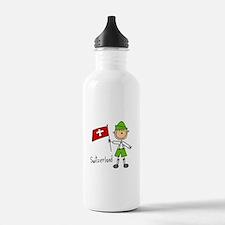 Switzerland Ethnic Water Bottle