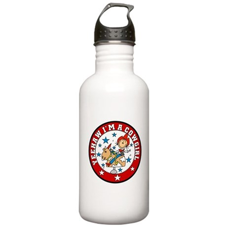 Yeehaw Cowgirl Stainless Water Bottle 1.0L