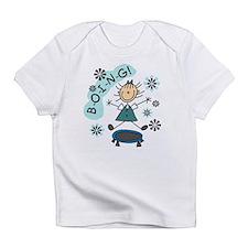 Girl on Trampoline Infant T-Shirt