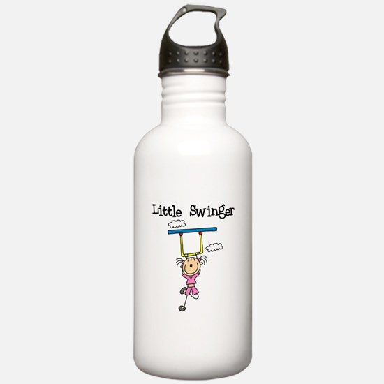 Little Swinger (girl) Water Bottle