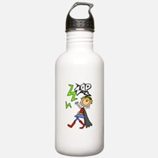 ZAP Girl Hero Water Bottle