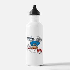 Blam Pow Super Boy Water Bottle