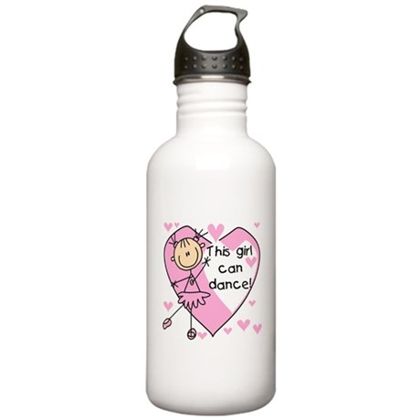 This Girl Can Dance Stainless Water Bottle 1.0L