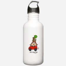 Car We're Moving Water Bottle