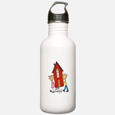 House We're Moving Water Bottle
