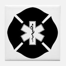 SOL in Maltese Cross Tile Coaster