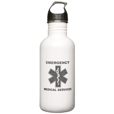 Emergency Medical Services Stainless Water Bottle