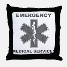 Emergency Medical Services Throw Pillow