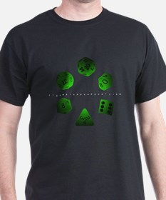 Green Dice Ring T-Shirt