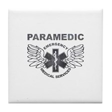 Paramedic EMS SOL wings Tile Coaster